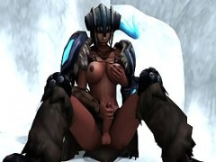 Sejuani Futanari League of Legends Video Hentai
